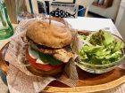 MKCAFEの鯖バーガーの画像